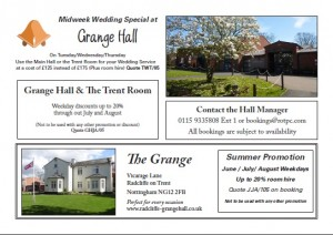 Grange Hall Advertising