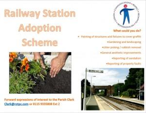 Station Adoption poster