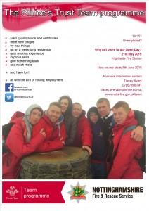 Recruitment Poster- High Fields Open Day